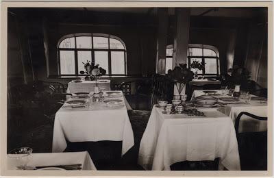 Zeppelin sala de jantar
